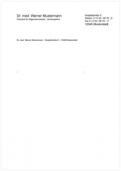 Briefbogen A5